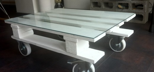 Mesa a partir de estiba